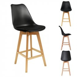 SILLA BAR HD3506 NEGRA F2
