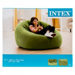 Silla Inflable Intex-Verde.