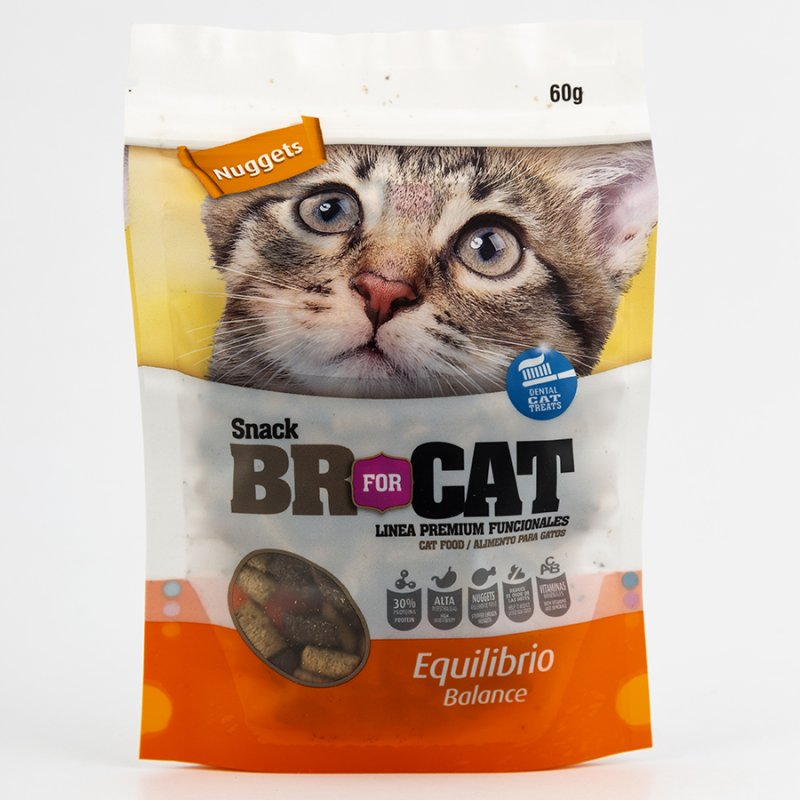 SNACK GATO BR FOR CAT 305030 60 GR EQUILIBRIO