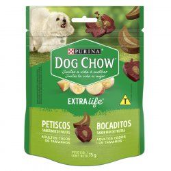 SNACK PERRO DOG CHOW 75 GR MIX FRUTAS 12439955