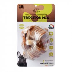 Snack Tp Bf-Vp Trocitos Mix Res/Cerdo 120 Gr Natural