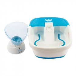 Spa Pies Homedics + Sauna Facial Combo Fb50+ Fac-2b-Sr-Mx