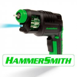 TALADRO / DESTORNILLADOR HAMMER SMITH X0707 INALAMBRICO TV NOVEDADES