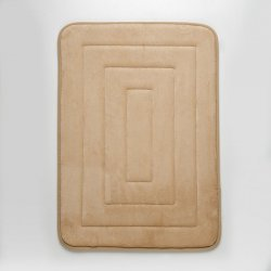 TAPETE MEMORY CUADRO EXPRESSIONS 43X61 BEIGE