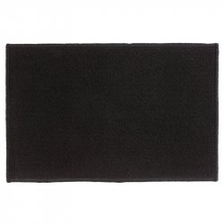 TAPETE PARA ENTRADA FIVE 104374 40X60CM CLEAN HOUSE BASIC NEGRO