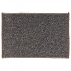 TAPETE PARA ENTRADA FIVE 117481 40X60CM CLEAN HOUSE BASIC GRIS PLOMO