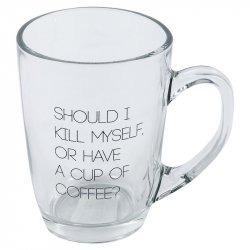 Taza Para Café Phiphy 126028 310ml-Transparente
