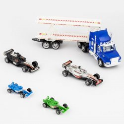 TRAILER FRICCION 46 B66343 C/ 4 CARROS