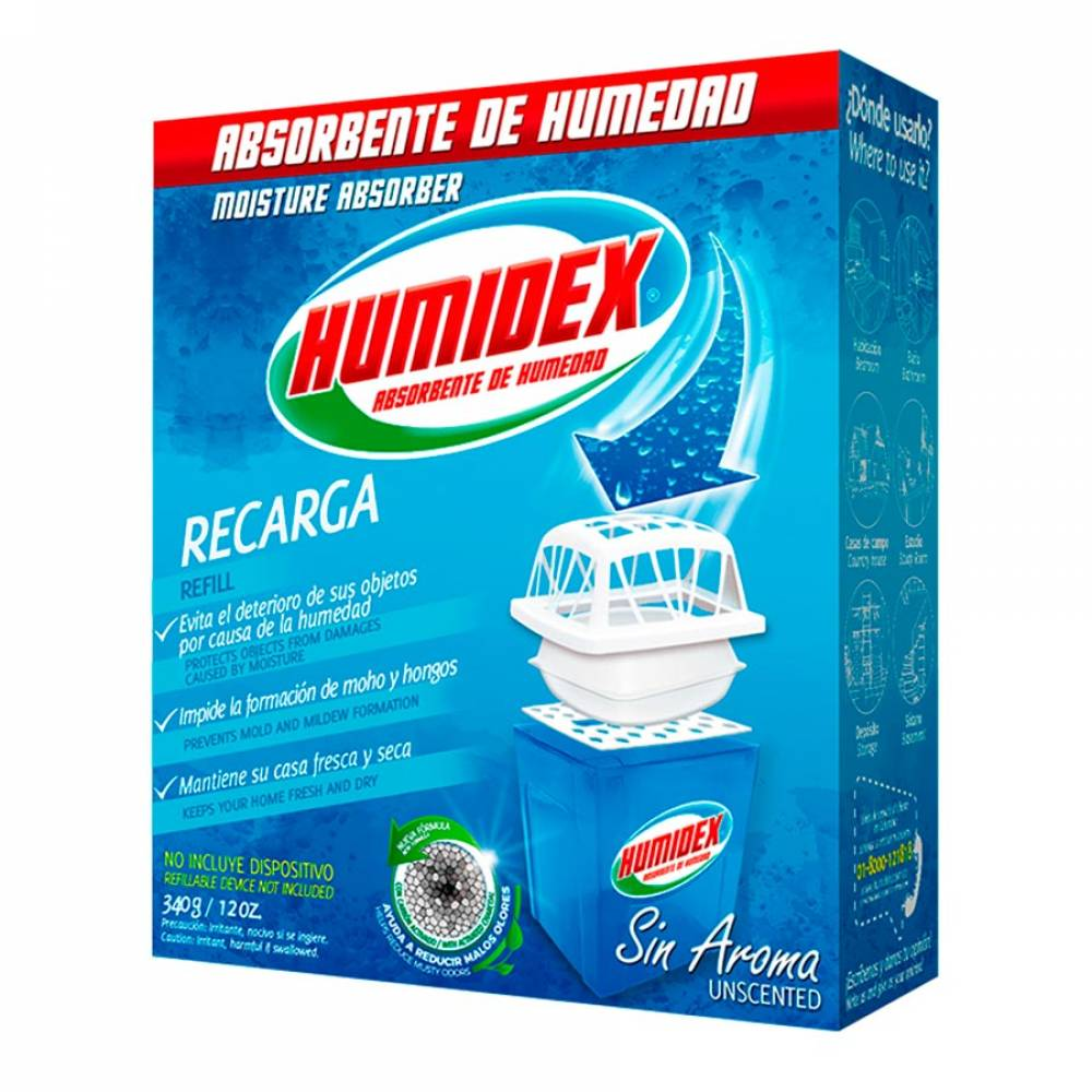Absorbente Humidex Blanco