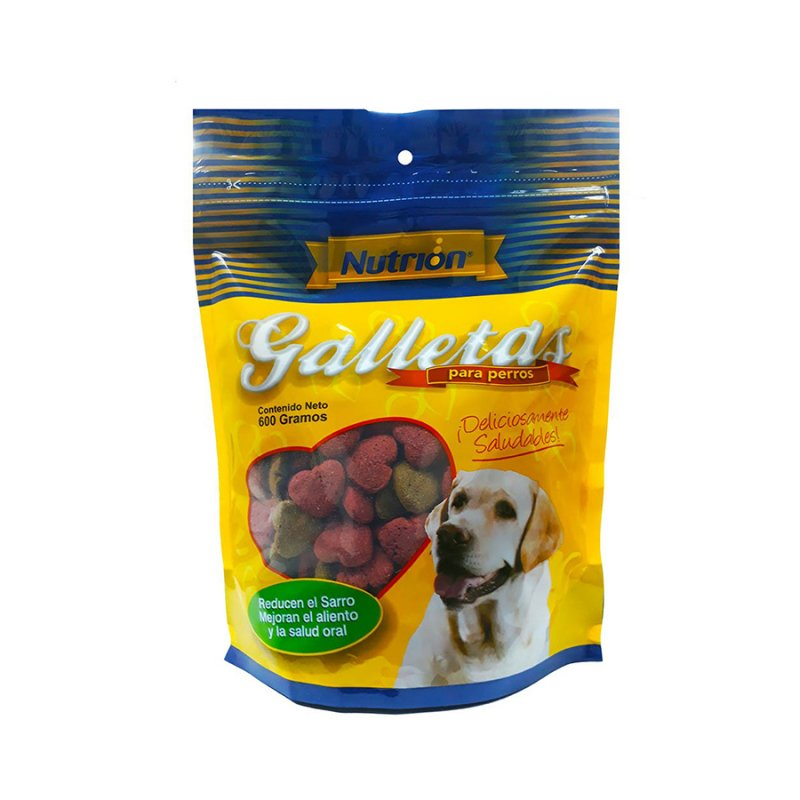 Galleta Perro Nutrion 0187 600 Gr