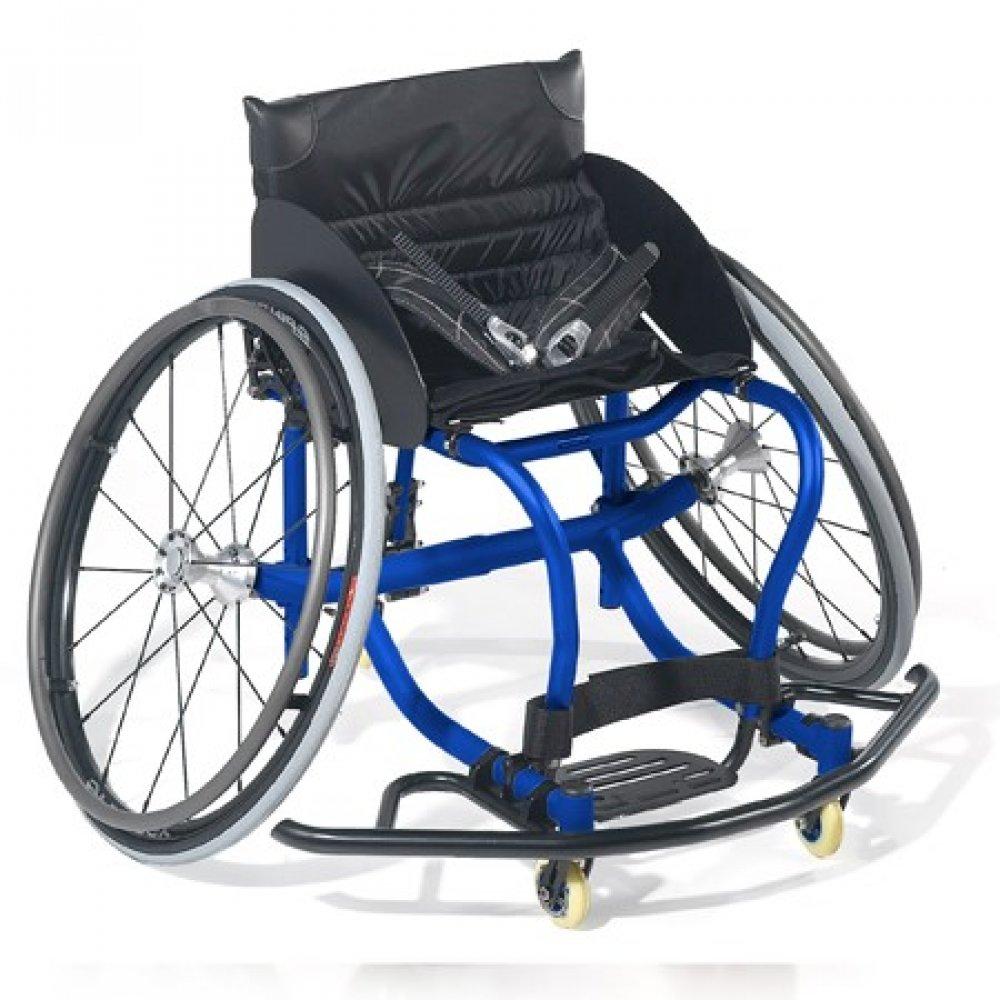 Silla de ruedas manual All Court Azul Candy