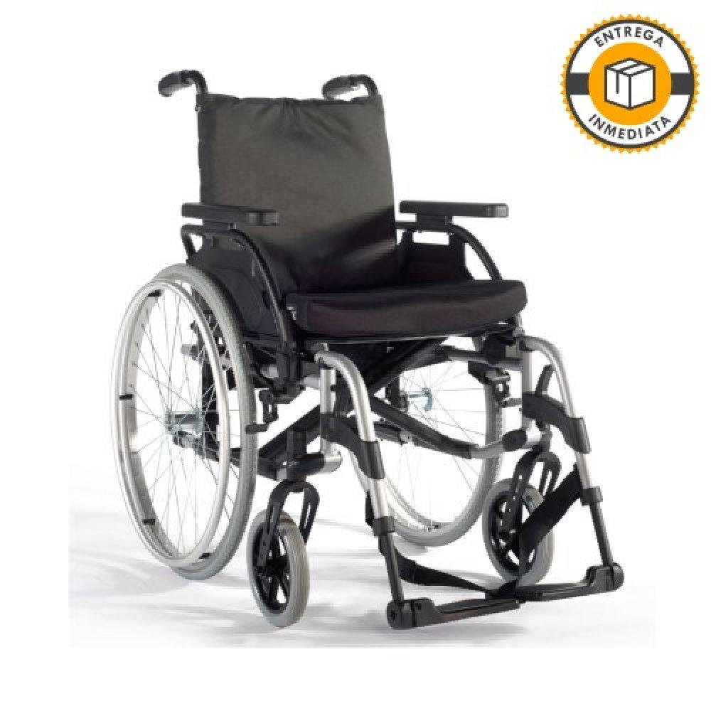 Silla de ruedas manual Breezy BasiX2 15x15