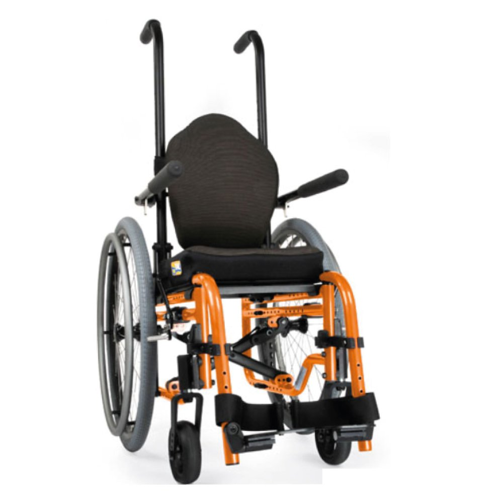 Silla de Ruedas Manual GS Naranja