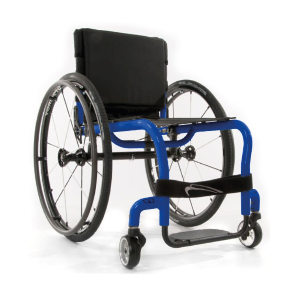 Silla de ruedas manual Q7 Azul Candy