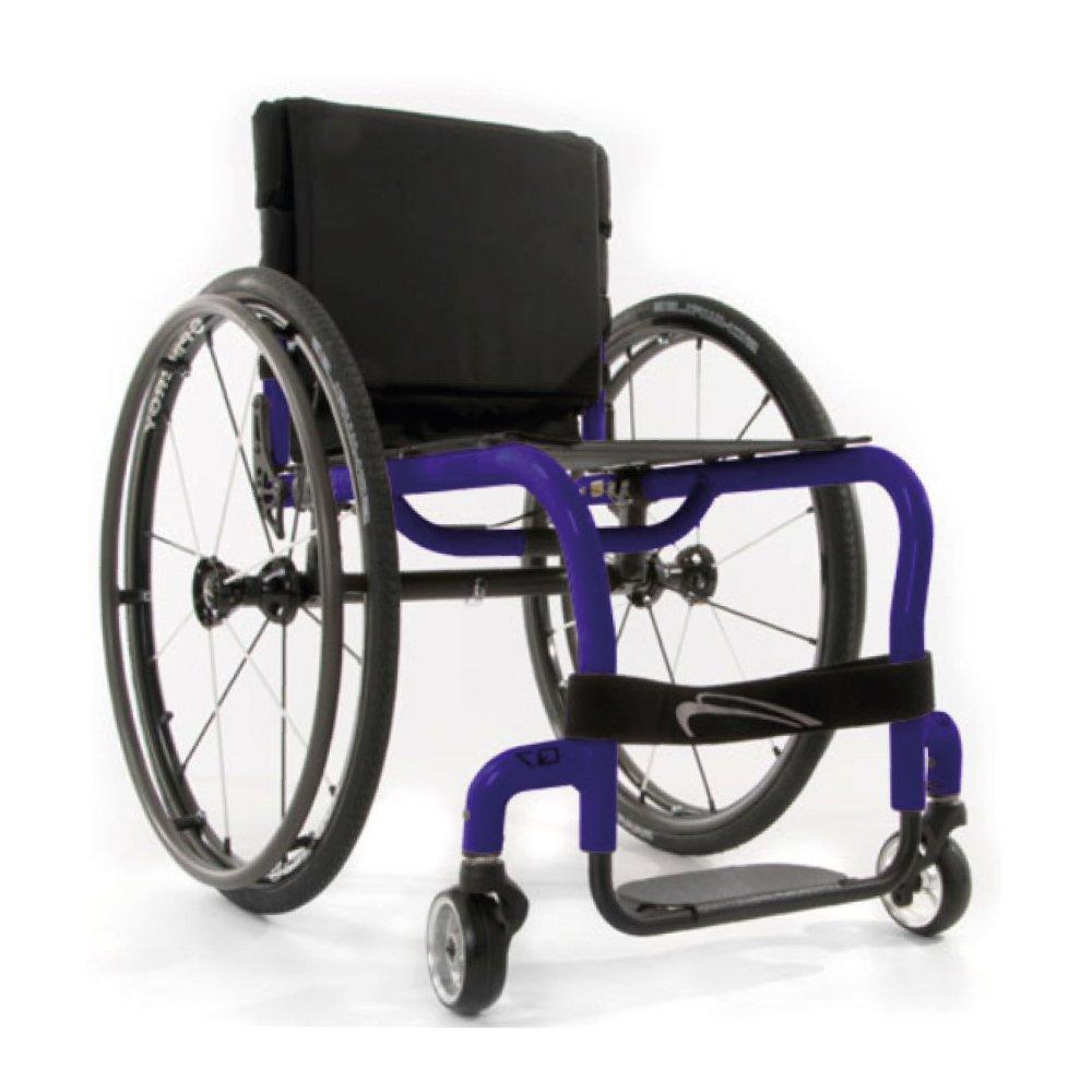 Silla de ruedas manual Q7 Morado