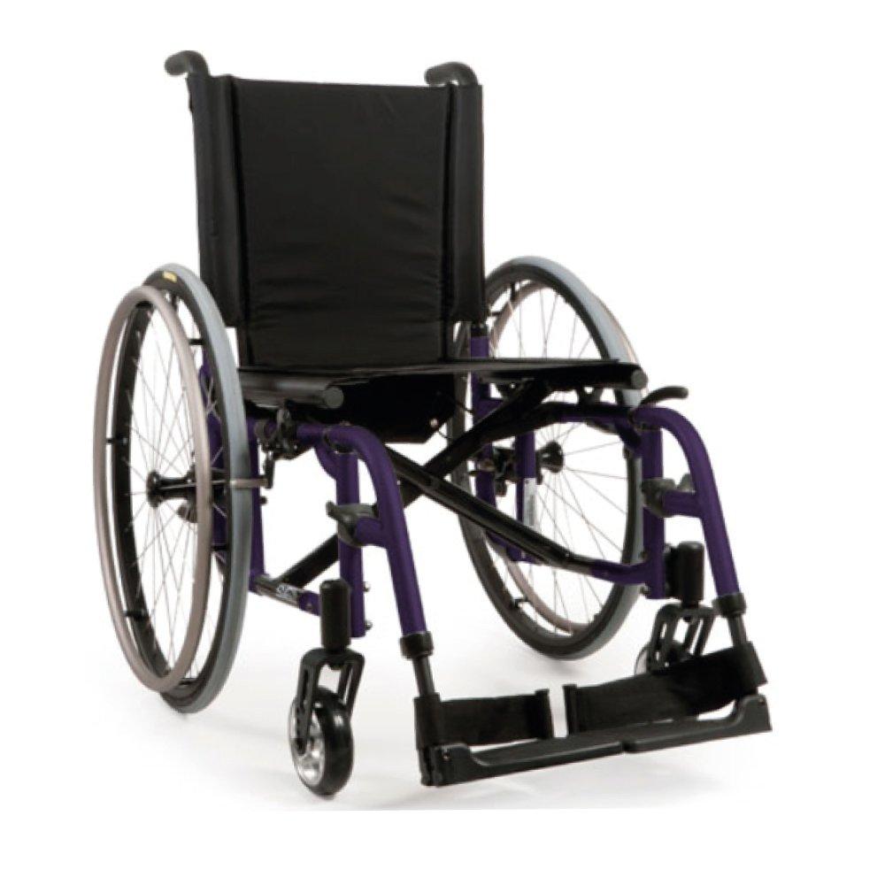 Silla de ruedas manual Quickie 2 Morado oscuro
