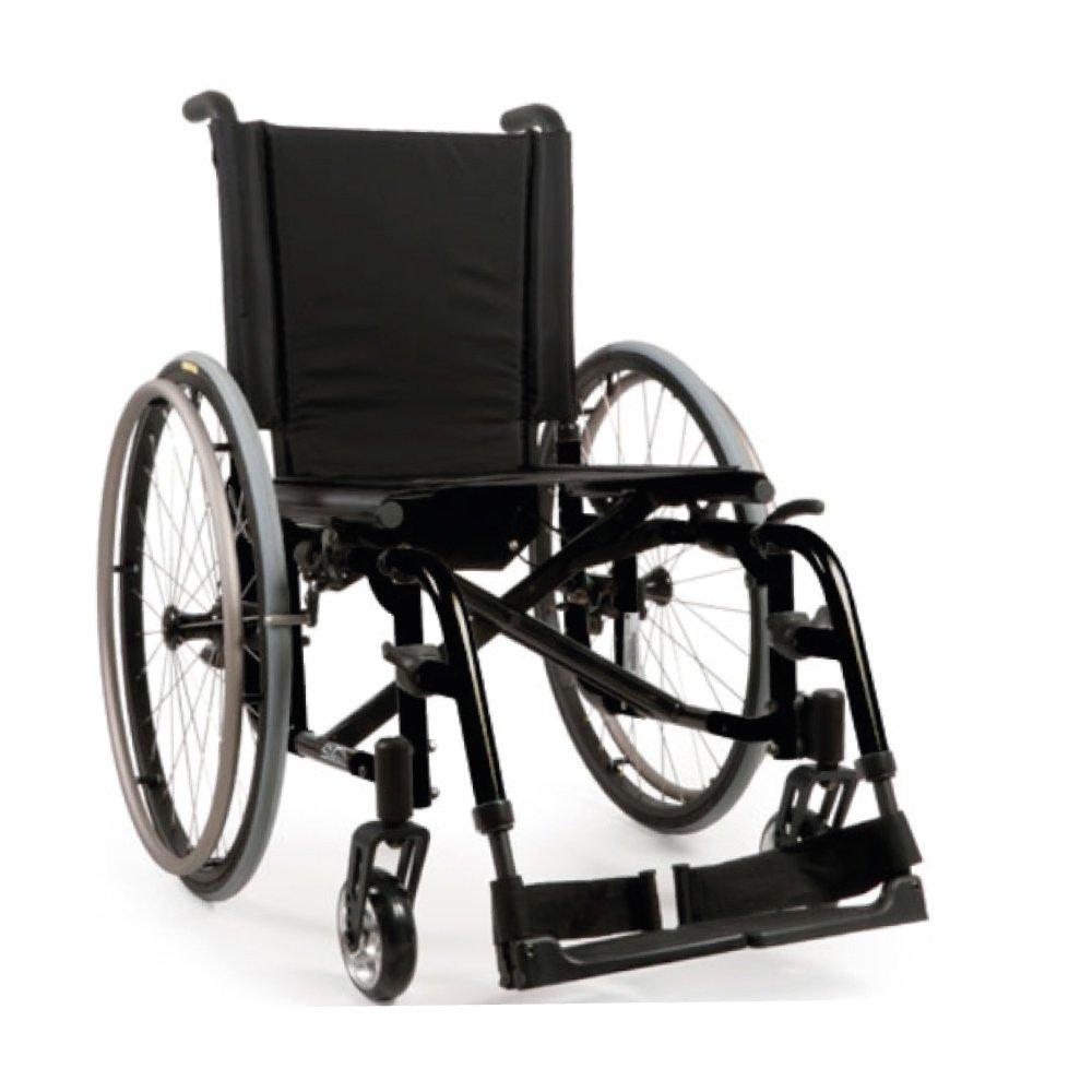 Silla de ruedas manual Quickie 2 Negro