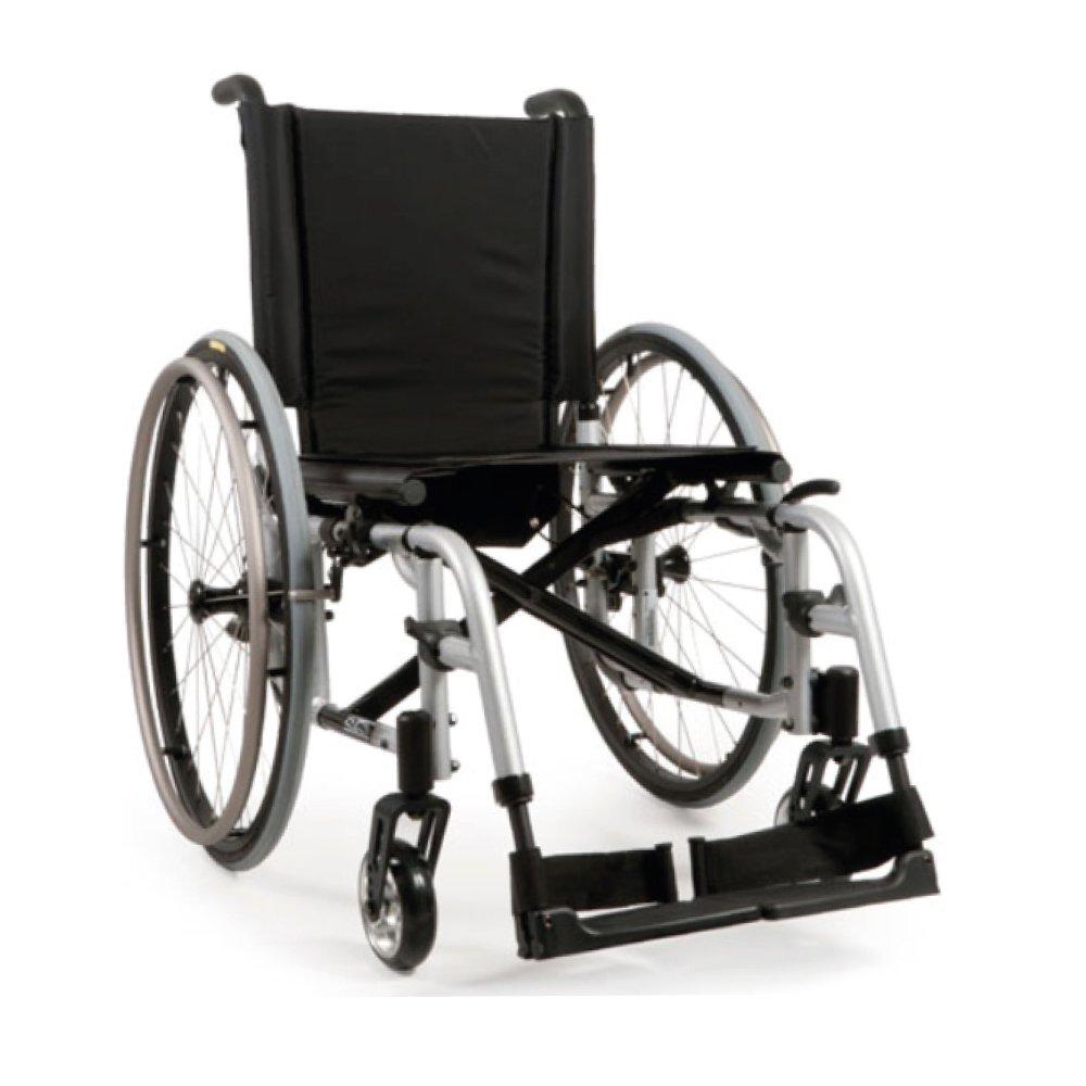 Silla de ruedas manual Quickie 2 Platinado