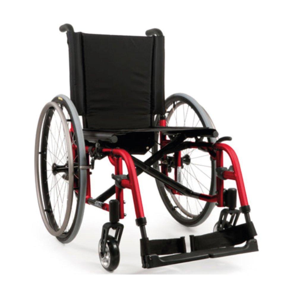 Silla de ruedas manual Quickie 2 Rojo