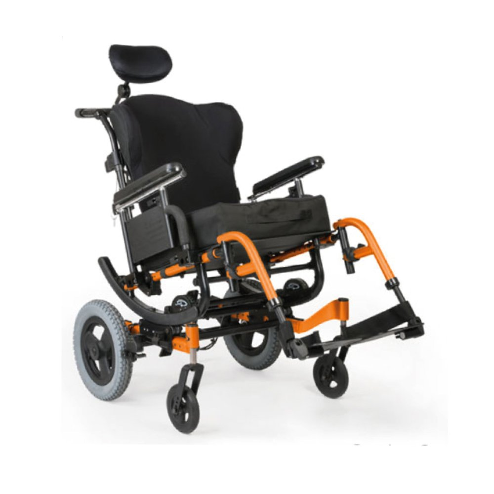 Silla de Ruedas manual Quickie IRIS Naranja