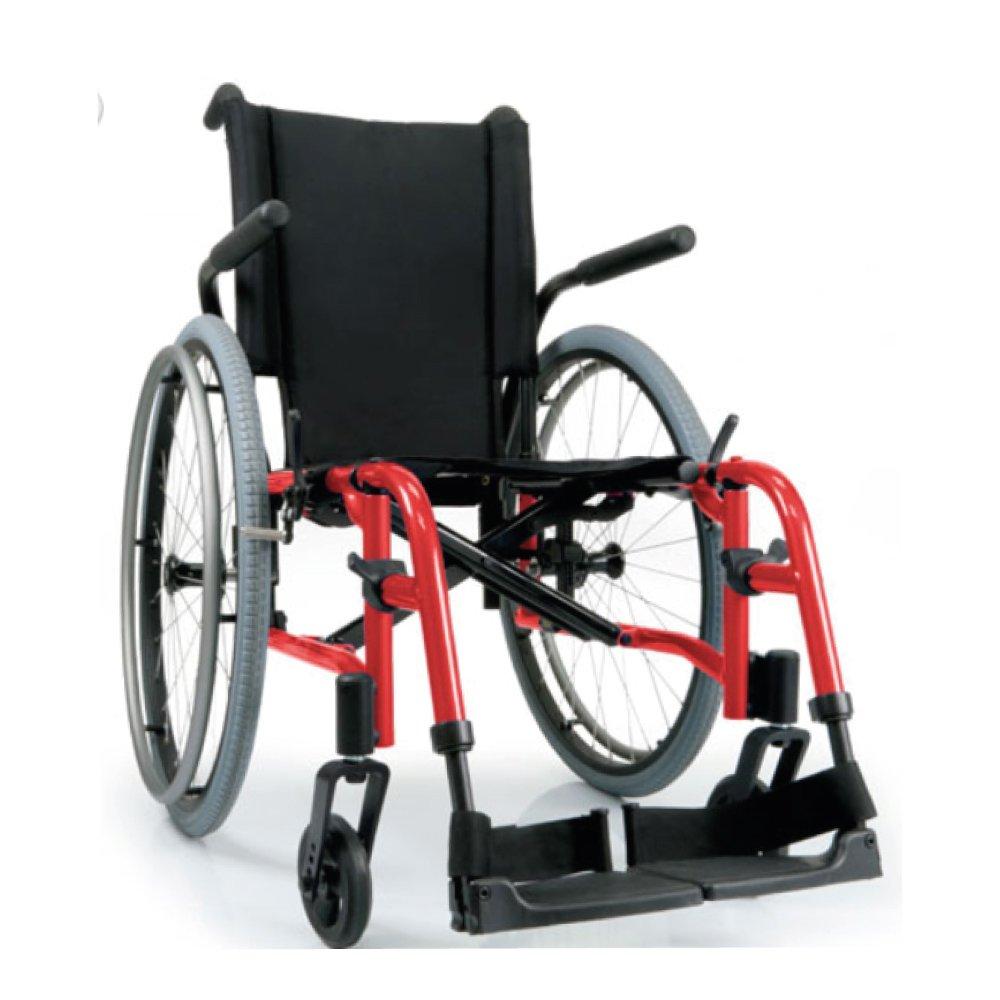 Silla de ruedas manual QXi  Rojo