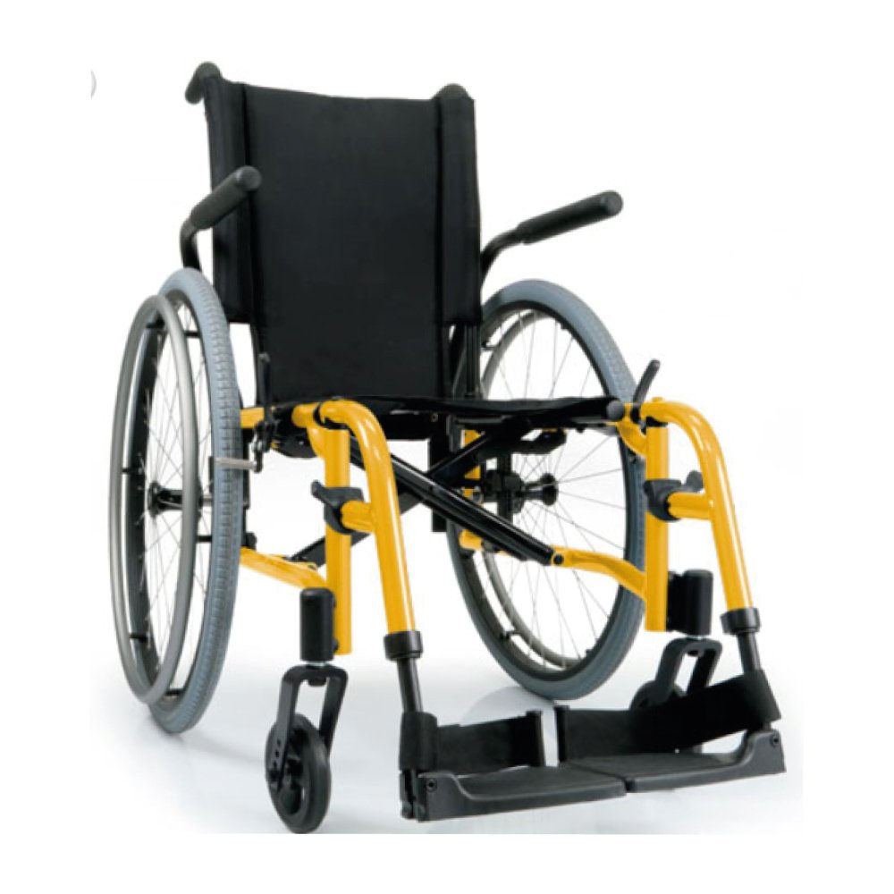 Silla de ruedas manual QXi Amarillo