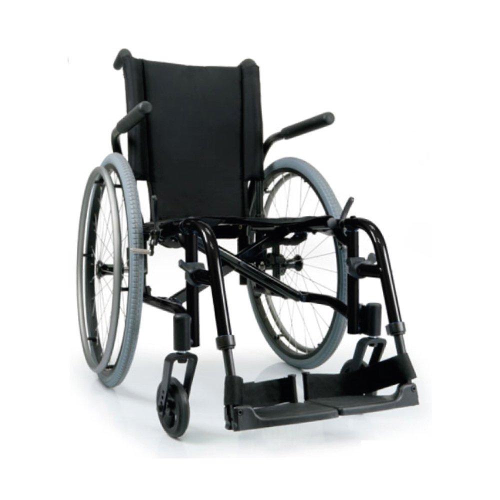 Silla de ruedas manual QXi Negro