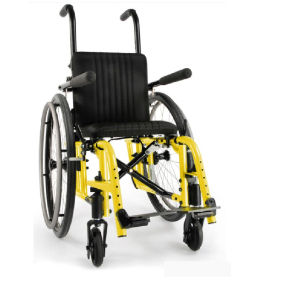 Silla de ruedas manual Zippie 2 Amarillo