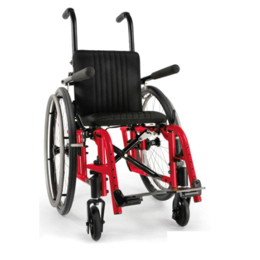 Silla de ruedas manual Zippie 2 Rojo Candy