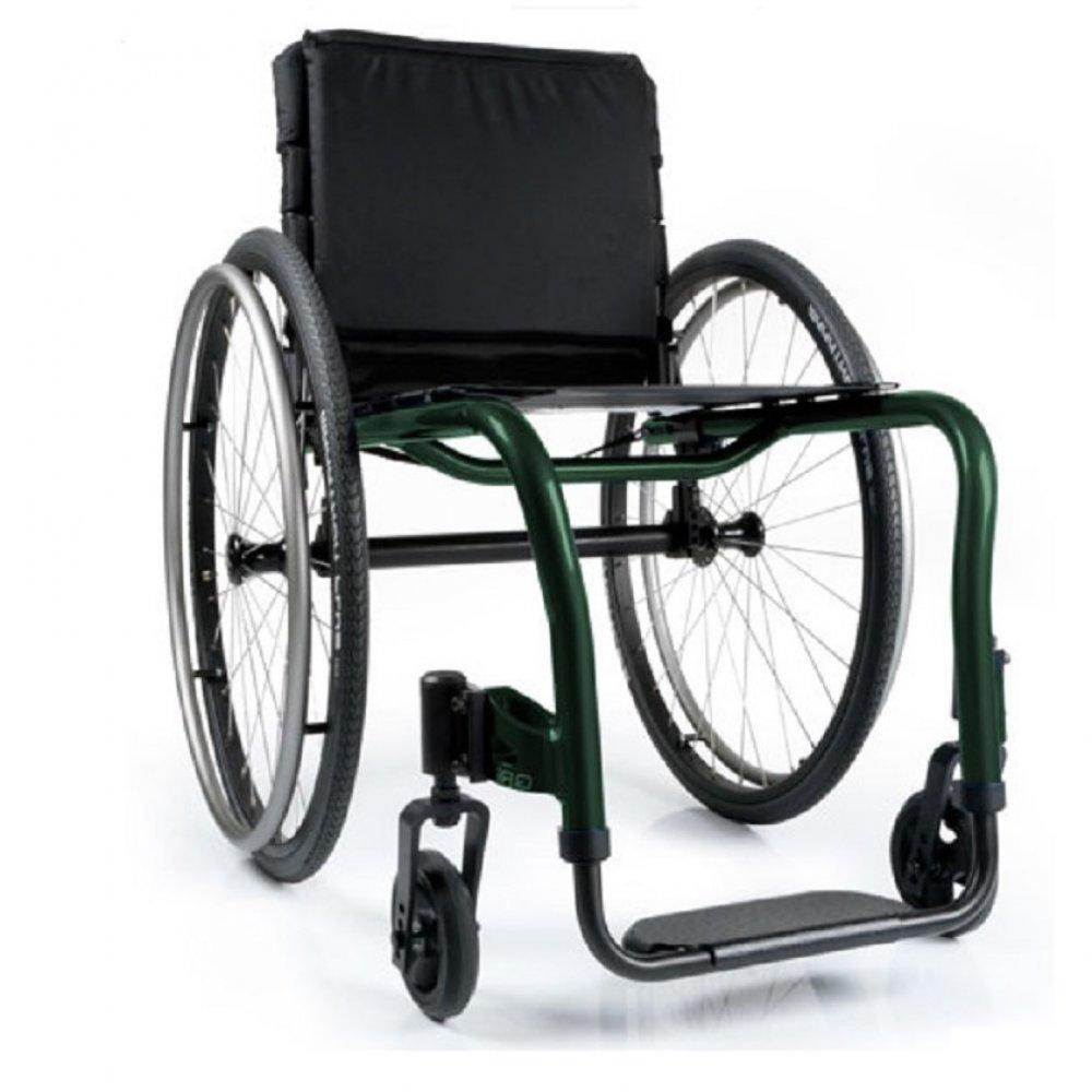 Silla de ruedas QRi Verde Pino