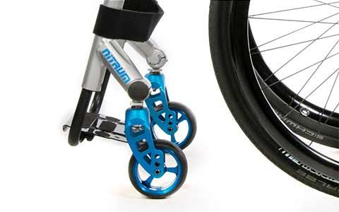 Sistema de ruedas ajustable patentado