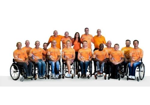 deportes en silla de ruedas
