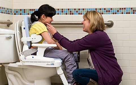 Ideal para cualquier niño, cualquier baño, en cualquier lugar.