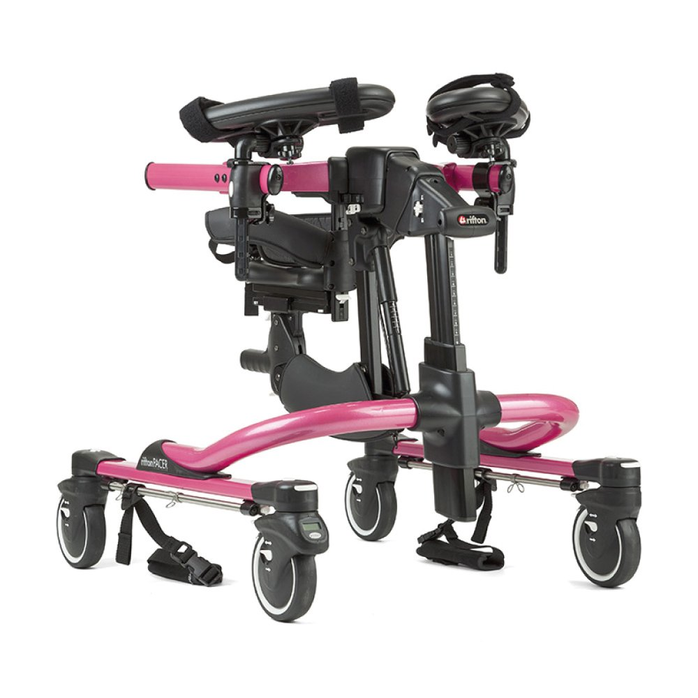 Dynamic Pacer Gait Trainer Pink