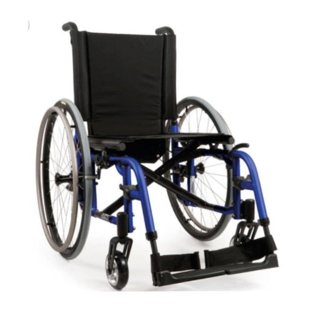 Quickie 2 Wheelchair Electric Blue