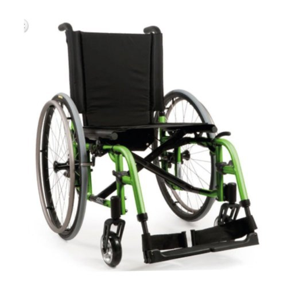 Quickie 2 Wheelchair Green Apple
