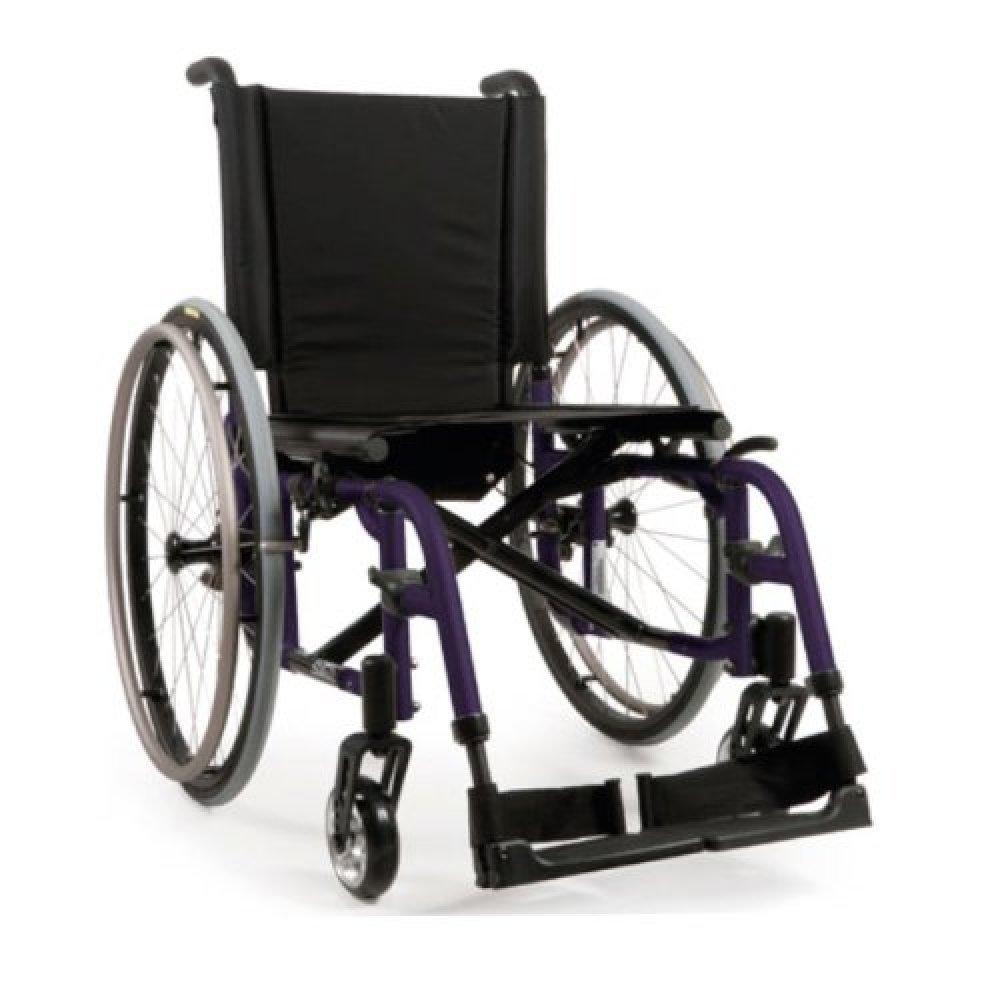 Quickie 2 Wheelchair Matte Purple