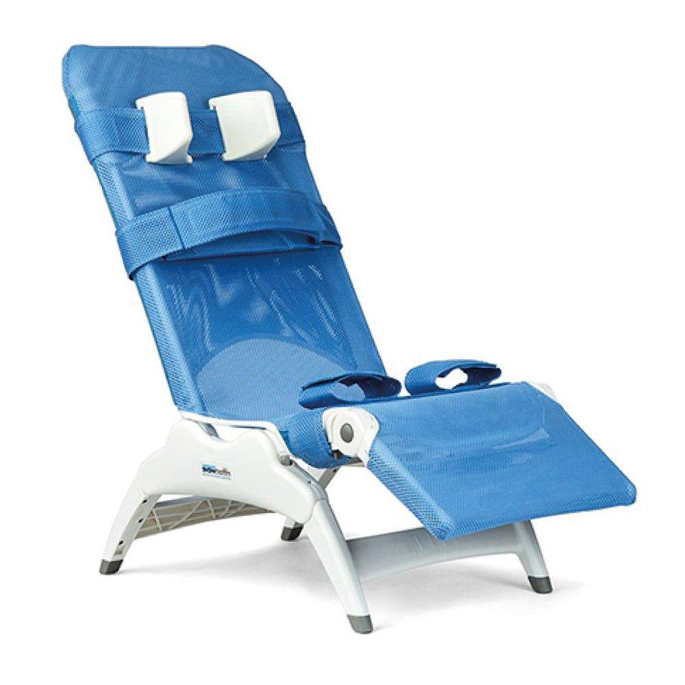 Wave Bath Chair Blue
