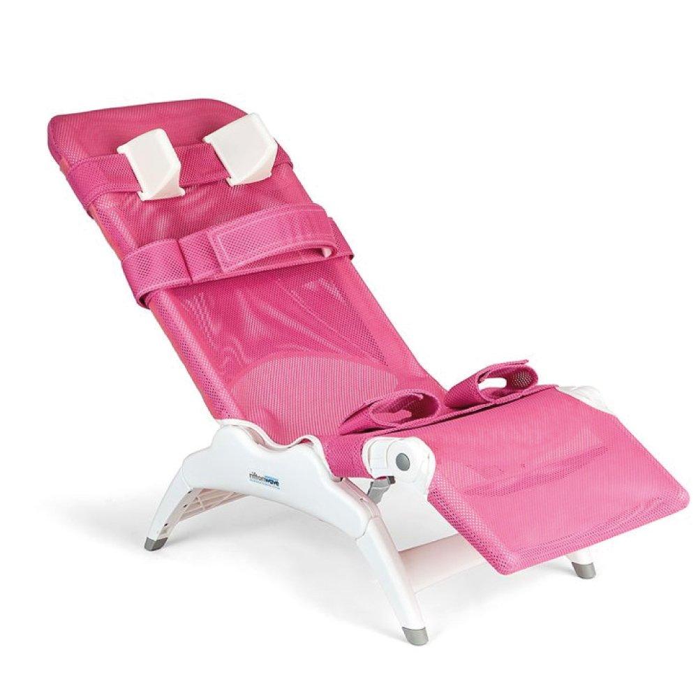 Wave Bath Chair Pink