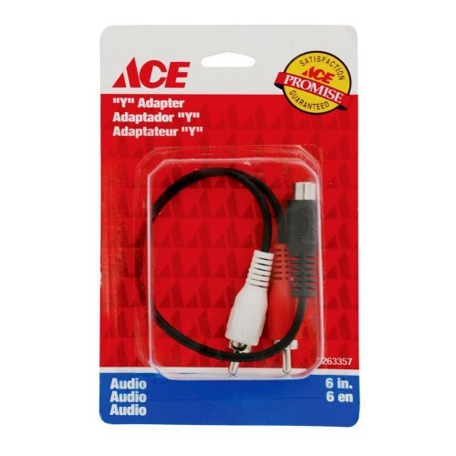 Cable En Yee Para Audio 2 Rca 6 15.24 Cms Ace