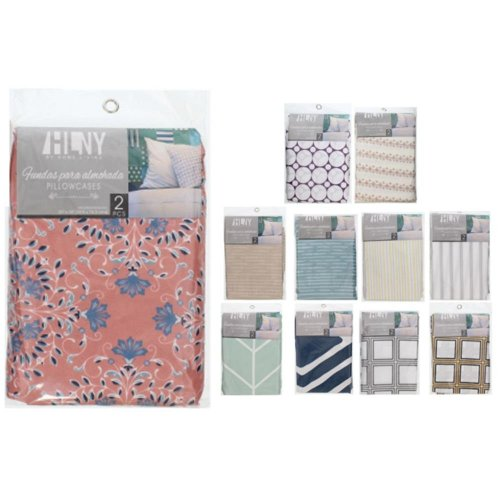 Funda P/Almohada 2Pzas 20X30 Estampado Home Living