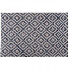 Tapete Kilim Double Squart Blue