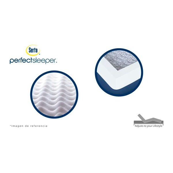 Colchón serta balance pillow top King 2.00 x 2.00