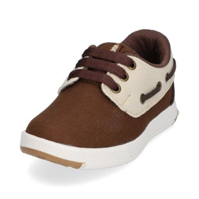 Apaches Sperry Café y Beige
