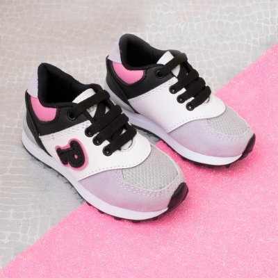 Sneaker Papos Lila y Gris