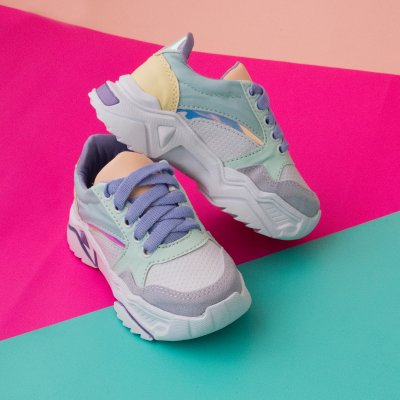 Tenis Fashion Pastel