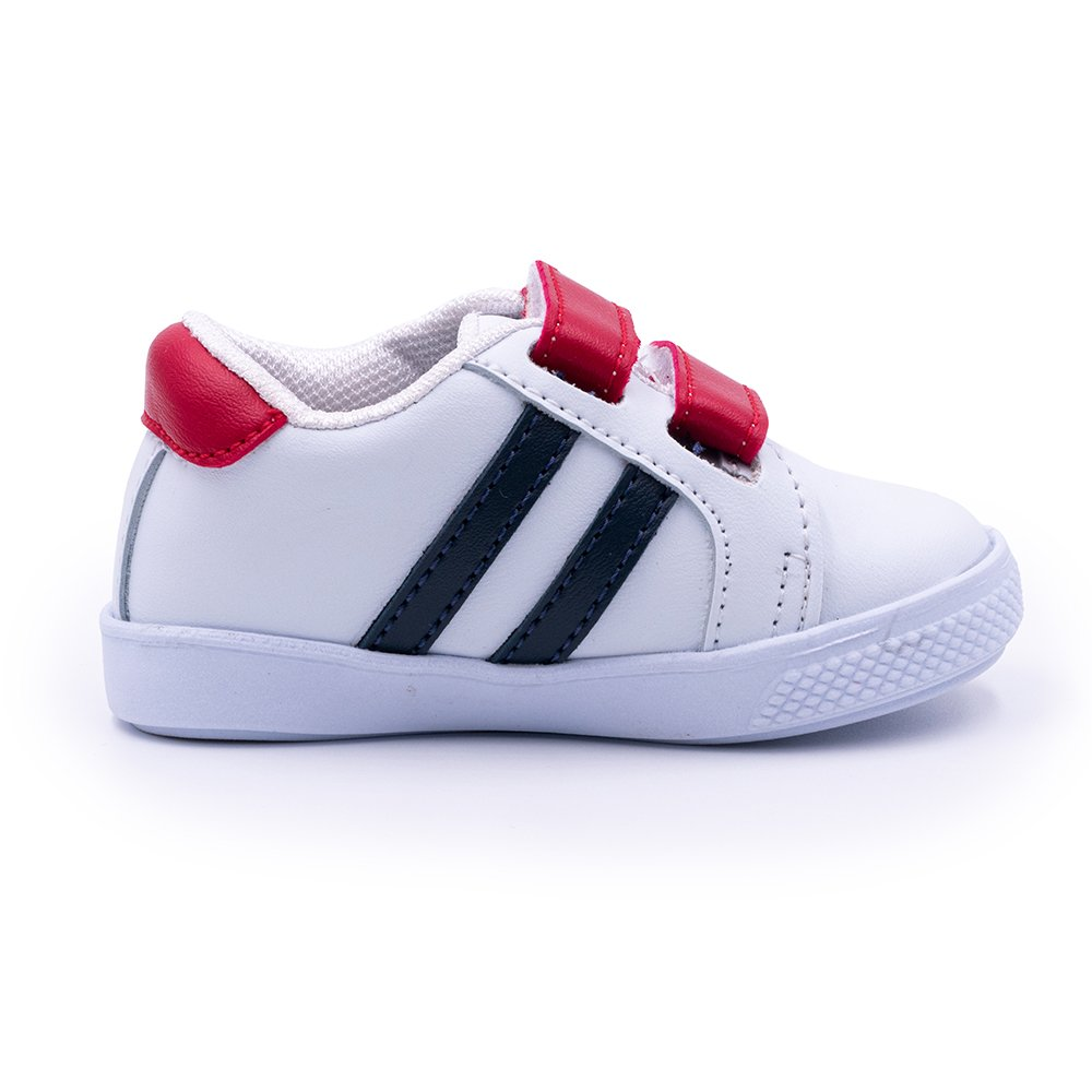 Tenis Color Velcro Talla 21