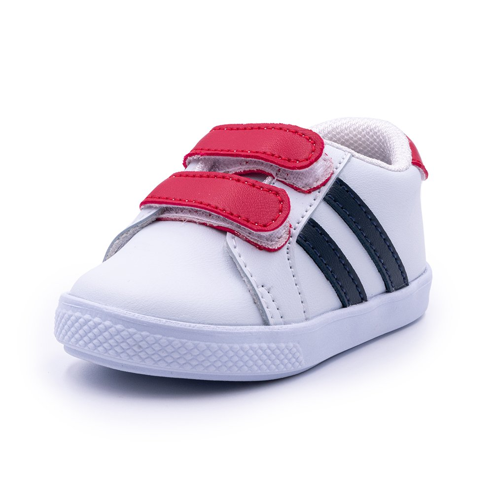 Tenis Color Velcro Talla 23