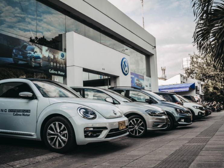 Vitrina Volkswagen Cali - Los Coches
