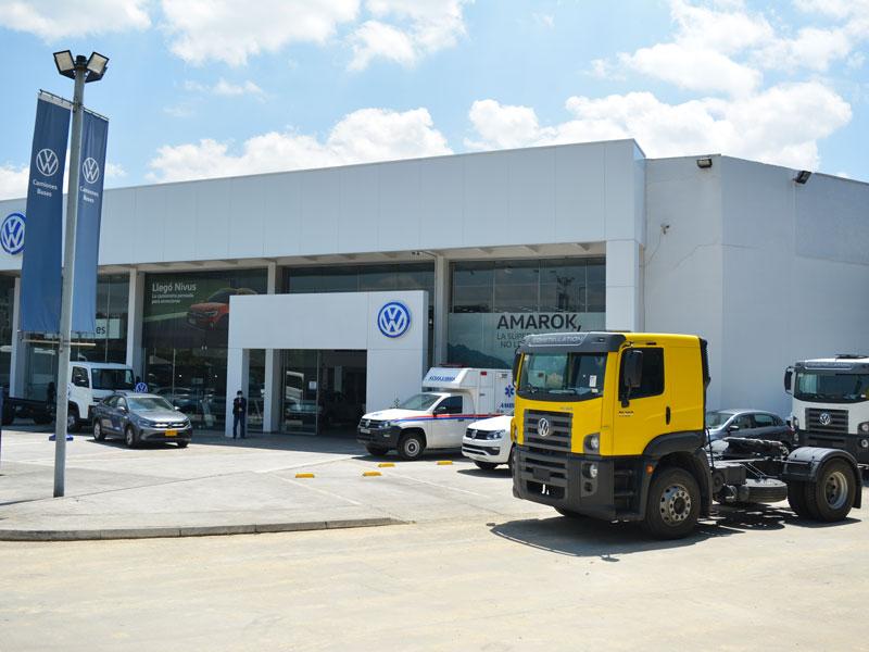 Vitrina Volkswagen Bogotá - Los Coches